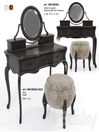 Giorgiocasa - Valpolicella - dressing table + pouf