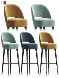 Collins Bar Chair Essential Home