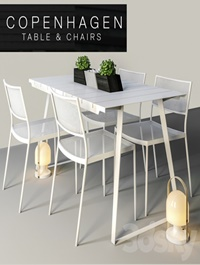 Copenhagen Chairs & Table