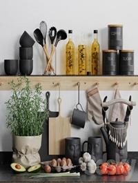Decorative kitchen set 03