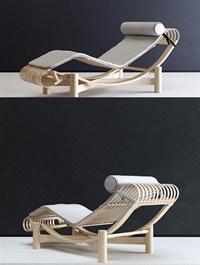 Tokyo Chaise Longue 3d model