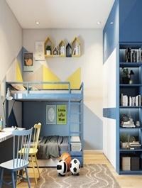 Child Bedroom 09 3d model