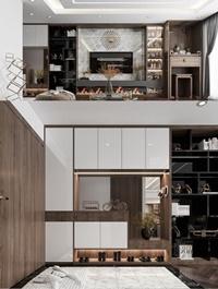 Livingroom Interior Scene by The Shaw