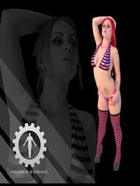 Mona in Bikini Female – People Scan 3D