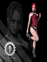 Mona Pinup Female – People Scan 3D