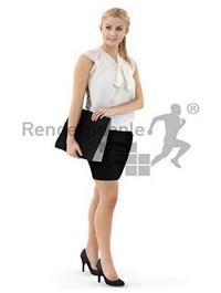 Kati Posed 008 Render People