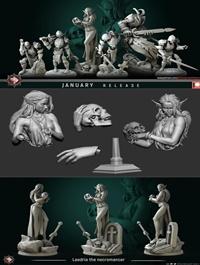 White Werewolf Tavern – 3D Print Model