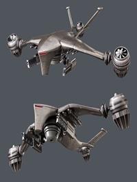 Turbosquid - Hunter killer-drone