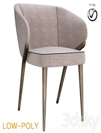 Bross Nora Dining Chair 1530 (low poly)
