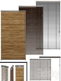 Shutter for windows and doors