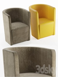 Malerba armchair red carpet collection (RC 508)