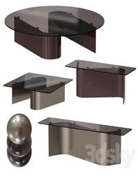Minotti / Bender Tables Set 1