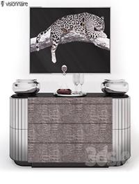 Chest of drawers Vaslav IPE Cavalli (Visionnaire)