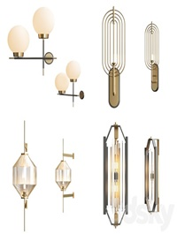 Modern wall lamps collection