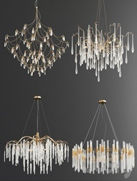 Four Exclusive Chandelier Collection 75