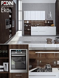 Kitchen Pedini Eko set3 (v-ray)