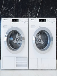 Miele T1 W1 washing machines and dryers
