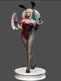 Bunny Quinn 3D Print Model