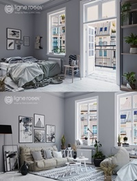 Interior Scene By Tran Dinh Quy