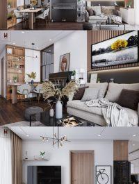 Interior Apartment Scene 04