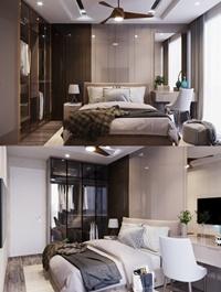Modern Style Bedroom 645