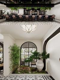 Interior Indochine Coffee Scene By Nguyen Thai Nguyen