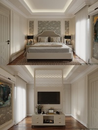 Bedroom Scene By Hoan Trann