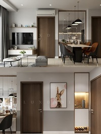 Kitchen – Livingroom By Thanh Cong