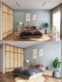 Bedroom By Phi Dinh Hao