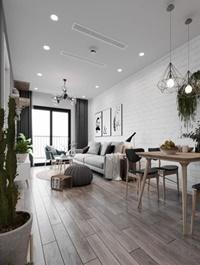 Kitchen - Livingroom Scene By NguyenDucThuan