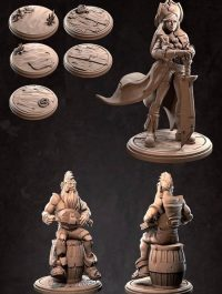 Partiallly Supported – 3D Print Model