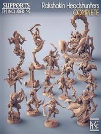 Rakshakin Headhunters – 3D Print Model