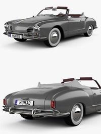 Volkswagen Karmann Ghia convertible 1958
