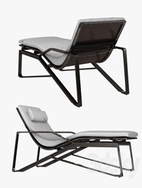 Holly hunt moray chaise