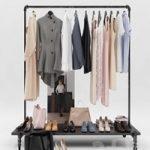 Women's and men's wardrobe