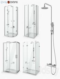 Set of shower cabins Ravak set 18