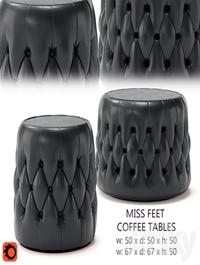Miss Feet coffee tables