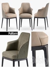 Poliform Sophie armchair