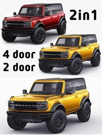 Ford Bronco 2021 4-door and 2-door