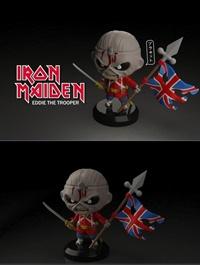 Iron Maiden Eddie Trooper – 3D Print Model