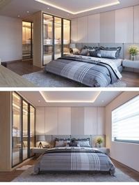 Modern Style Bedroom 585