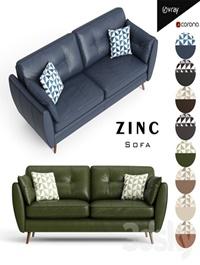 Zinc sofa
