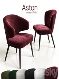 Chairs lounge Minotti Aston