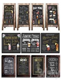 Chalkboard for cafe 2