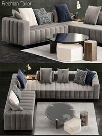 Minotti Freeman Tailor Sofa 2