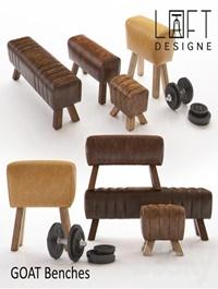 GOAT Benches - LOFT DESIGNE