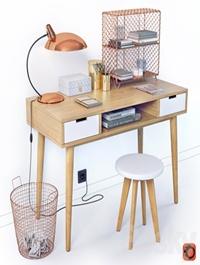 Desktop with decor La Redoute JIMI