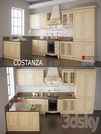 Kitchen COSTANZA Classic Collection for ARREX