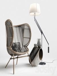 Greige Design Olaf Chair Set