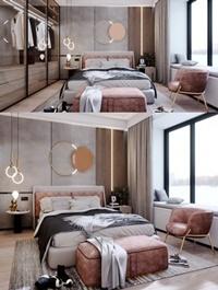 Interior Bedroom Scene Sketchup By LeTaiLin